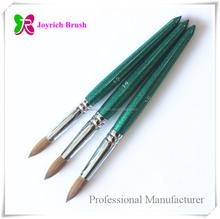 spazzolino da unghie professionale produttore puro kolinsky sable chiodo artista del pennello