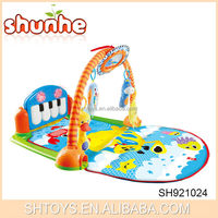 Newest product cloth musical playmat piano baby playmat for sale