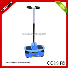Newest type ES03 CE/RoHS/FCC approved chariot warehouse electric scooters with 2 front small wheels motorcycle