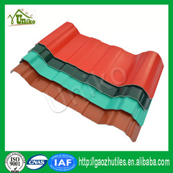 Cheap multilayer europe style soundproof heat insulation water proof plastic pvc roofing tile for garage