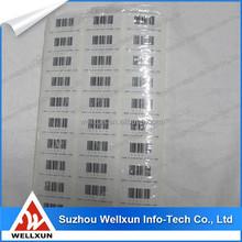 alibaba china barcode key tag stickers