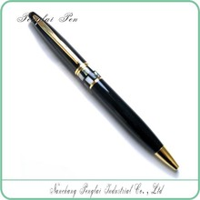 MOQ 500Pcs Promotional heavy Metal shell Pen Customized Logo Brand Black Business pen
