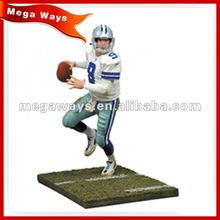 soccer sport player realistic resin figure