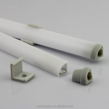 Waterproofed plastic led aluminum profile for led strip profile