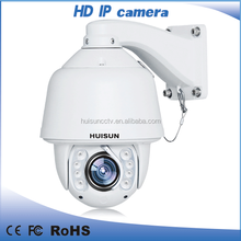 H.264 360 degree rotating 20X PTZ camera dome