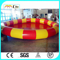 CILE Competitive Red and Yellow Swimming Pool Inflatable for Spa