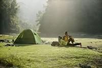 outdoor wood frame tent, 1000d nylon cordura tent fabric