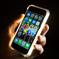 USA warehouse wholesale New products led mobile phone shell phone case lumee case Lumee LED selfie phone case