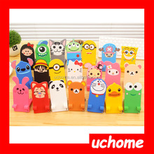 UCHOME creative cute lovely candy soft flexible cell phone holder