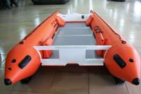 High Speed Fiberglass Boat Inflatable Motor Boat