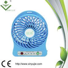 18650 Li-ion battery fan 2015 hot rechargeable fan CE RoHS FCC fan