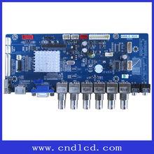 TFT LCD monitor scaler board