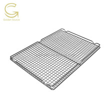 kitchen equipment with stainless steel bacon rack