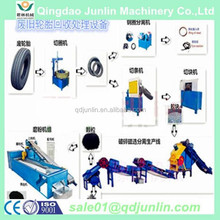 Scrape tyre recycling rubber powder equipment / tire recycling machine