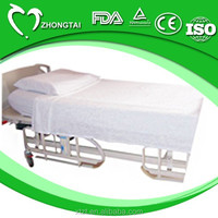 SPP non woven disposable hospital bed sheet