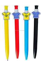 2015 Novelty promotion special clip cartoon pens/cartoon character pens/cartoon ballpoint pen