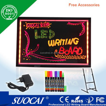 new products on china market advertising product electronic advertising board with aluminum frame for outdoor lighting