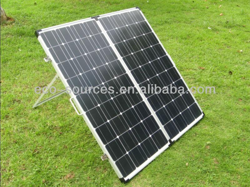 160 w panel solar plegable, 160 watt portátil las células solares panel, Cómoda panel