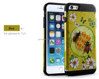 King Kong Combo Case, 6plus case cover, for Apple 5.5 inch (yellow + black)