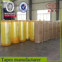 Water Based Acrylic Glue Opp Packing Tape Jumbo Rolls with Competitive Price