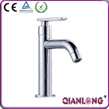 QL-509 ce new design single handle brass water wash basin faucet tap