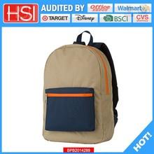 audited factory wholesale price loving pvc school bag