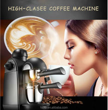 Electric espresso coffee machine/expresso coffee maker with 4 cups 5bar