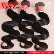 Alibaba Express Brazilian Virgin Body Wave Hair Smooth&All Cuticle in the Same Direction&DHL Delivery
