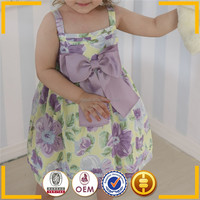 Children clothes brand name clothes purple Korea summer fashion dress 2015