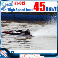 Hot item GW-TFLFT012 large plastic boat toy electric ship model radio control speedboat/ racing boat/yacht/jet ski boat sale