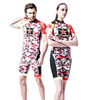 cheap sublimation padded cycling shorts