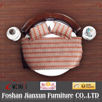 F6156 leather round bed