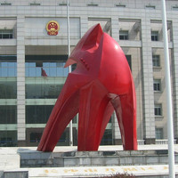 Large Outdoor Fiberglass Resin Statue Sculpture