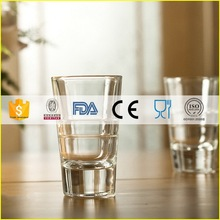 Newest most popular shot stem less glass cup