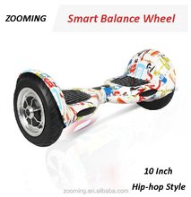 2015 self balancing electric smart scooter two wheel hover board 10 inch