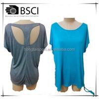 Stock yoga racer back T shirts PLUS size big size 4XL vest active wear DIY print women yoga supper big size yoga with reflective