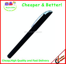 Factory price click plastic pen logo printed Cross pen gel ink pen