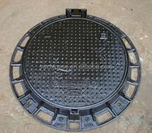 D400 E600 cast iron manhole cover