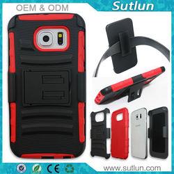 Slim armor kickstand pc tpu hard cover case for Apple iPhone 5 5s 6 6 plus Samsung galaxy note 4 s3 s4 s5 s6 s5 mini s6 edge