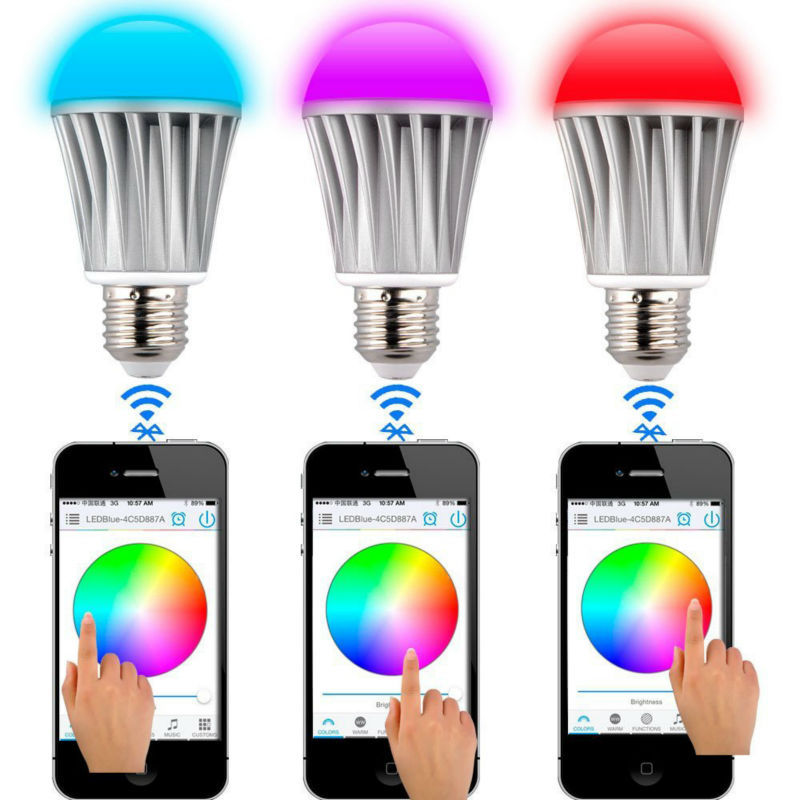 dimmable multicolored color changing led lights bulb led. Black Bedroom Furniture Sets. Home Design Ideas