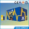 factory price 5d simulator 5d projector cinema platform servo motor 9d cinema video game 7d cinema