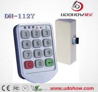 Keyless electronic cabinet digital keypad lock
