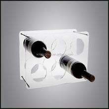 Wall Mounted Wine Bottle Acrylic Display Case