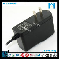 rohs adapter 12v 1a/set top box power adapter 12v 1a/shenzhen adapter