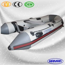 360cm RIB rigid 6 persons inflatable rescue boat for sale