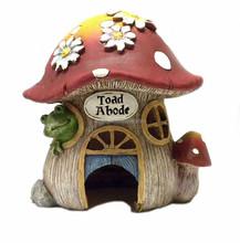 Mushroom Shape Resin House Decor