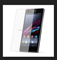 Asahi tempered glass high quality 9H 0.33mm thickness 2.5D tempered glass screen protector for Sony xperia e