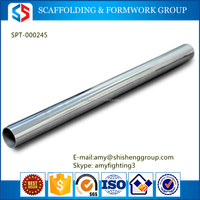 Tianjin SS Group Different Size Scaffolding ERW Black Steel Pipe/Tube
