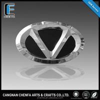 Custom car accessories chrome car logo and their name