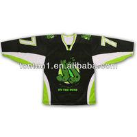 Custom Dye Sublimation Red Ice Hockey Jersey